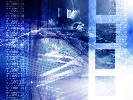 redes electricas: Fondo de tecnolog�a abstracta, c�digo binario Foto de archivo