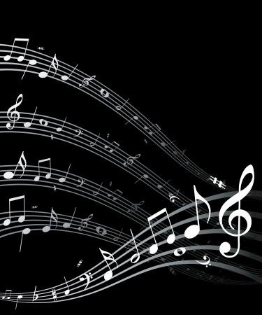 Música de vectores de alta calidad señala Esta imagen es una ilustración vectorial y se puede escalar a cualquier tamaño sin pérdida de resolución