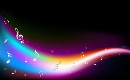 poem: High quality colorful music notes.(This image is a vector illustration and can be scaled to any size without loss of resolution in ai format.)