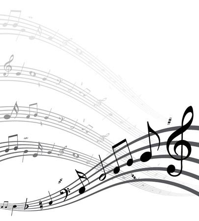 image size: Calidad de vectores notas altas m�sica. (Esta imagen es una ilustraci�n vectorial y se puede escalar a cualquier tama�o sin p�rdida de resoluci�n.) Vectores