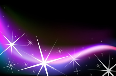 scaled: High quality star lights.(This image is a vector illustration and can be scaled to any size without loss of resolution in ai format.)