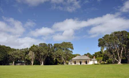 verdrag: James Busby s, huis, Waitangi Treaty Grounds, NZ