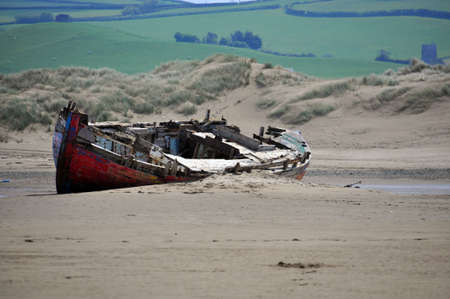 encroaching: The encroaching sand