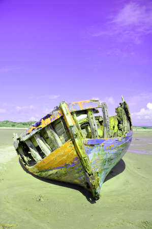wrecked: The wrecked boat