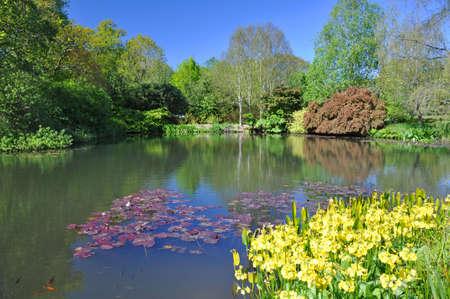 english garden: The English Garden lake