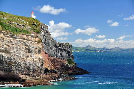 Taiaroa Head, Otago peninsular, New Zealand  Stock Photo