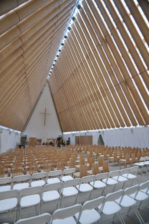 transitional: The Cardboard Cathedral in Christchurch, New Zealand