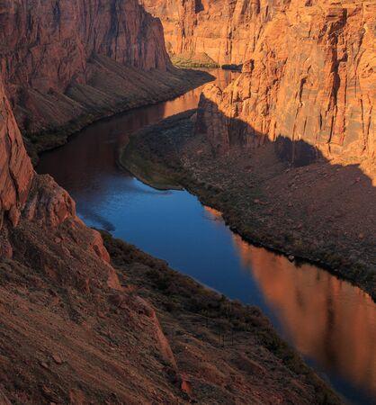 recreation area: Beautiful  scenic glen canyon recreation area at Arizona, US Stock Photo