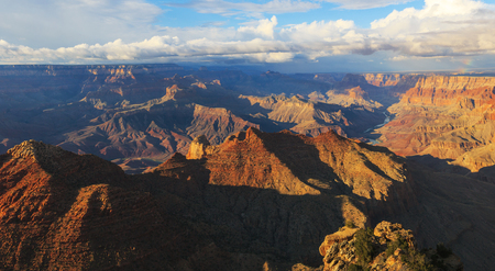 gorgeus: Gorgeus landscape of rock formation on the south rim of the Grand Canyon National Park, Arizona, United States