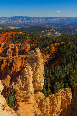 Incredible rock formation. Bryce Canyon National Park. Utah, United States of America Stock Photo
