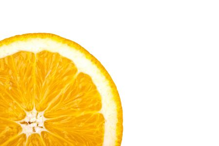orange, completely isolated on white background Stock Photo - 7528788
