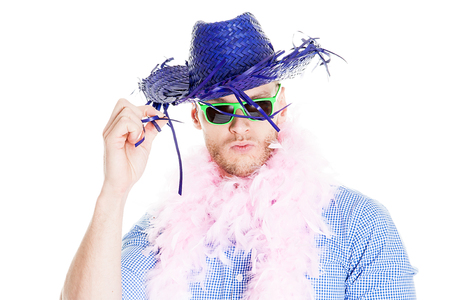 Crazy Young Party Man - Photo Booth Photo