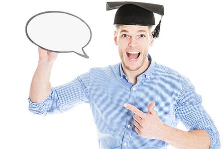 apologetic: Exam Student Praying isolated on white background