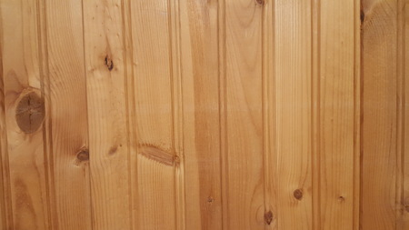 Wood Plank Background With Knots