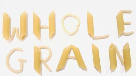 Noodles Spell Out Whole Grain, Whole-Grain
