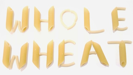 Noodles Spell Out Whole Wheat, Whole-Wheat
