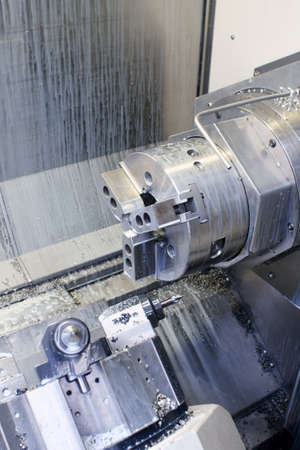 machine: CNC Milling Machine chuck assembly used for machining metal components