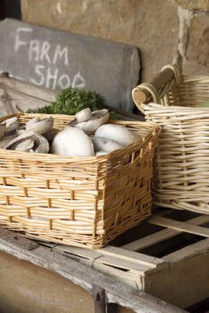 farm shop: Farm shop produce on sale Stock Photo