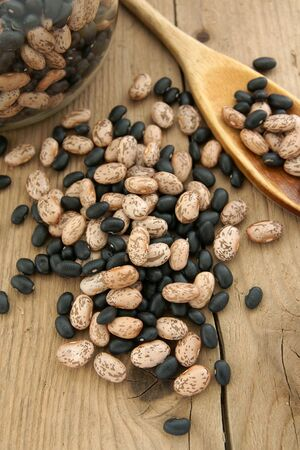 turtle bean: Mixed Pinto and Black Turtle Beans