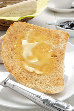 bread soda: Irish Soda Bread or Farls split and toasted and buttered