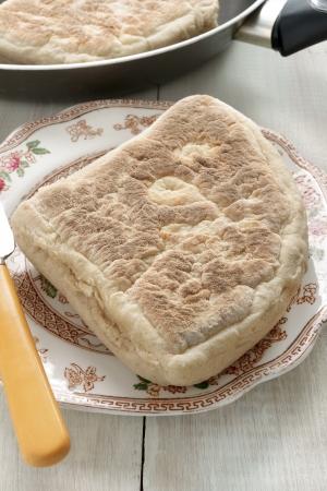 bread soda: Irish Soda Bread or Soda Farls a traditional Irish flat bread