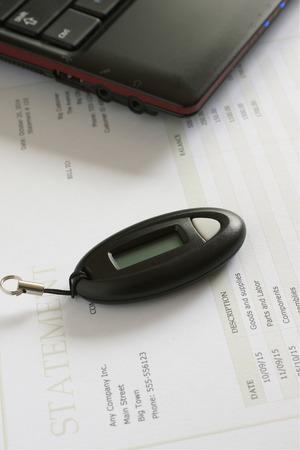 teclado numerico: Código de acceso generador de claves para la creación de códigos de contraseña segura en la banca en línea y otros sitios web seguros Foto de archivo