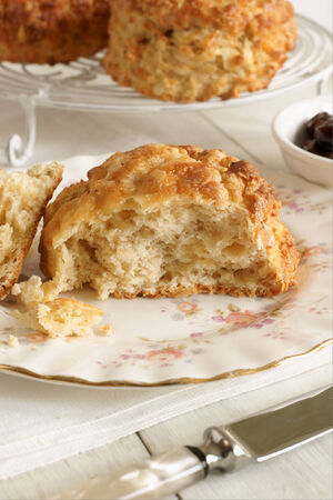 sweet and savoury: Cheese scones a savoury variety of the more tradtional sweet scone