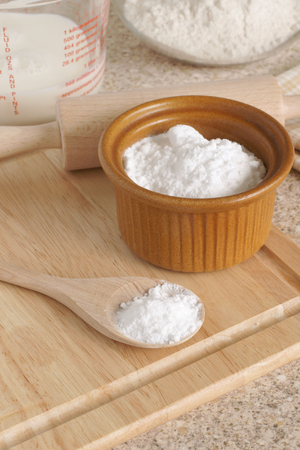 sodium bicarbonate: Baking Soda or Sodium bicarbonate
