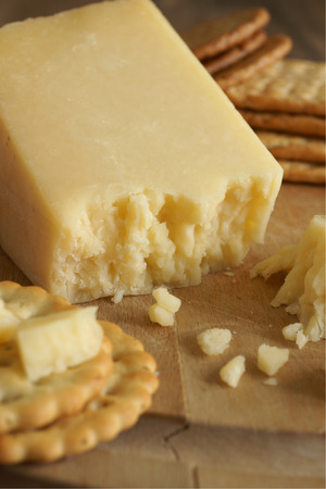 lancashire: Lancashire a traditional English cheese