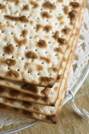 matzah: Matzah crackers eaten during the Passover holiday