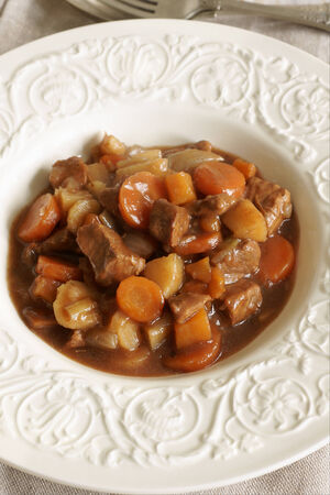 rutabaga: Classic Boeuf Bourguignon or beef casserole