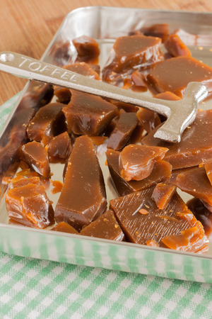 treacle: Treacle Toffee a hard brittle toffee made with treacle or molasses