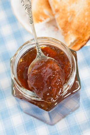 treacle: Oxford Marmalade a darker in colour marmalade made with treacle and brown sugar and seville oranges