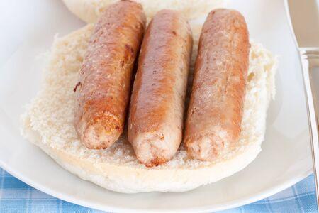 bap: Sausage sandwich or sausage bap a favourite British snack