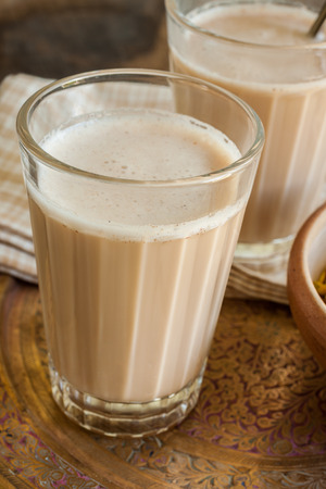 masala chai: Masala Chai a refreshing blend of tea with milk and spices