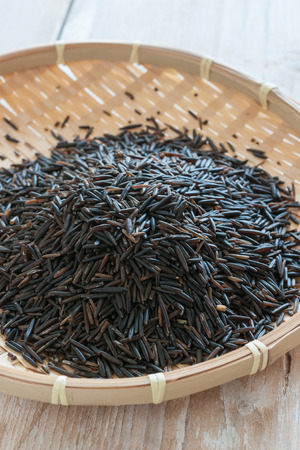 wild oats: Wild rice also called Canada rice Indian rice and water oats a wild growing variety from North America and Canada