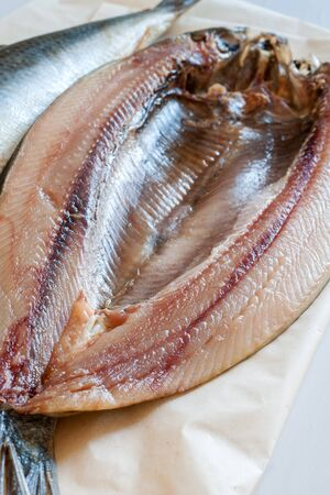 and naturally: Manx Kippers naturally smoked herrings