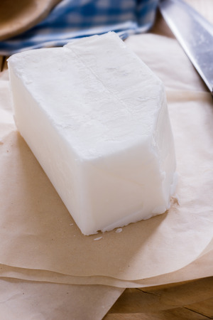 Beef dripping or Tallow a rendered beef fat used in cooking or as a shortening Standard-Bild