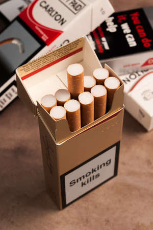 enact: Packs of ten cigarettes now banned under the European Union Tobacco Products Directive as of May 20th 2016 along with wide ranging controls on tobacco products