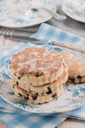 griddle: Welsh cakes a traditional griddle cake