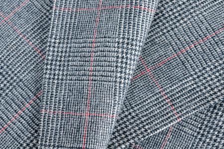 Glen a cuadros o Glenurquhart comprobar aa patrón de la tela tradicional