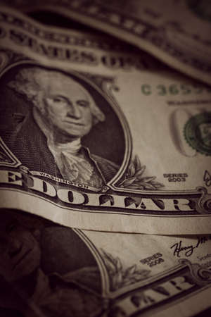 United States one dollar bank notes