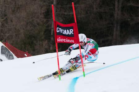 fis: Alta Badia, ITALIA 22 dicembre 2013 FANARA Thomas FRA competere nel Audi FIS di sci alpino Coppa del Mondo UOMINI Editoriali