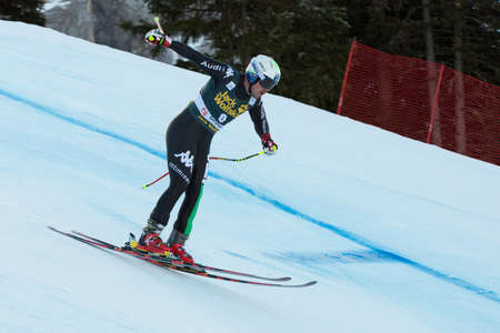 fis: VAL GARDENA - GROEDEN, ITALY 21 December 2013  FILL Peter  ITA  competing in the Audi FIS Alpine Skiing World Cup MEN