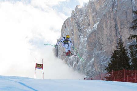 fis: VAL GARDENA, ITALIA - 21 dicembre gare FRANZ Max AUT lungo la Saslong competizione della Audi FIS Sci alpino Coppa del Mondo UOMINI Editoriali