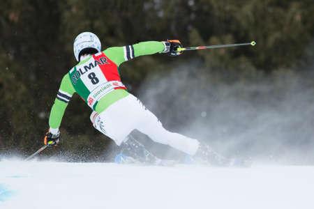 fis: Alta Badia, ITALIA 22 dicembre 2013 D�pfer Fritz GER competere nella Audi FIS di sci alpino Coppa del Mondo UOMINI Editoriali