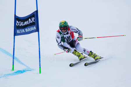 fis: Alta Badia, ITALY 22 December 2013  SCHOERGHOFER Philipp  AUT  competing in the Audi FIS Alpine Skiing World Cup MEN