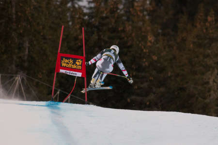 fis: VAL GARDENA - Groeden, ITALIA, 21 dicembre 2013 SCHEIBER Florian AUT competere nella Audi FIS di sci alpino Coppa del Mondo UOMINI