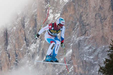 fis: VAL GARDENA - GROEDEN, ITALY 21 December 2013  DEFAGO Didier  SUI  competing in the Audi FIS Alpine Skiing World Cup MEN