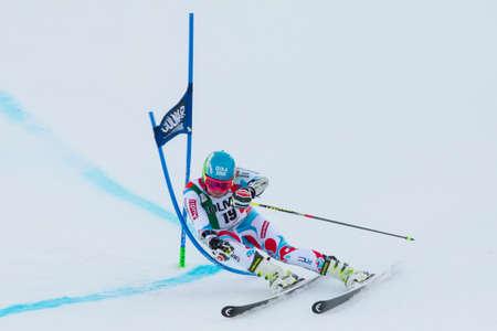 fis: Alta Badia, ITALIA 22 dicembre 2013 FAIVRE Mathieu FRA competere nel Audi FIS di sci alpino Coppa del Mondo UOMINI
